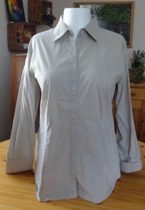 Damen Bluse von S. Oliver in beige weiß gestreift Größe 46