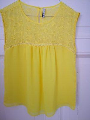 Blouse Collar nude-yellow