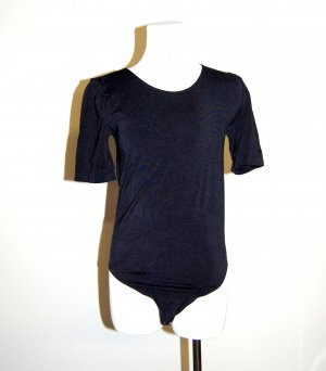 Damen Body Bahamas - dunkelblau Kurzarm von Wolford Gr. S-36