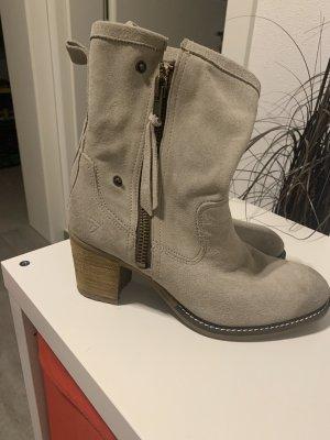 Tamaris Chelsea Boot gris clair cuir