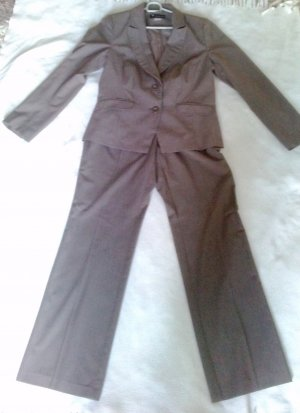 Damen Business Anzug - taupe - Größe 40/42