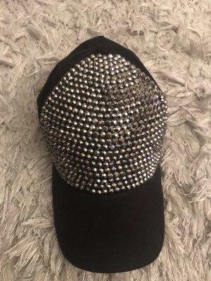 Chapeau de soleil noir-argenté