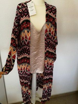 Damen Cardigan lang mit buntem Muster Gr. M von Zara NEU + ungetragen mit Etikett!