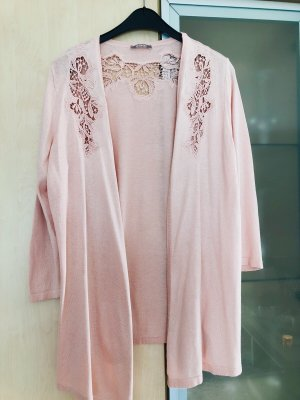 Orsay Gebreid vest rosé-stoffig roze