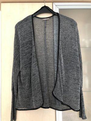 Orsay Chaleco de punto negro-gris