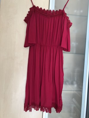 Orsay Hippie Dress raspberry-red-magenta