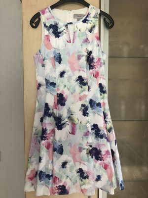 Damen Coast Cocktail Kleid Abendkleid Gr 38 Florales Muster wie Neu