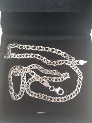 Zware ketting zilver