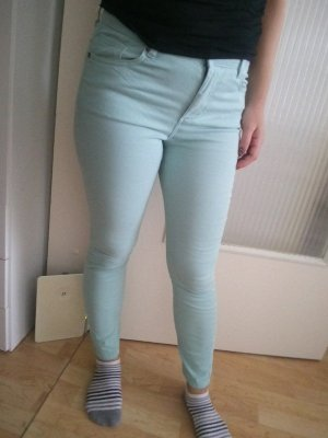 Cool Code Low-Rise Trousers baby blue