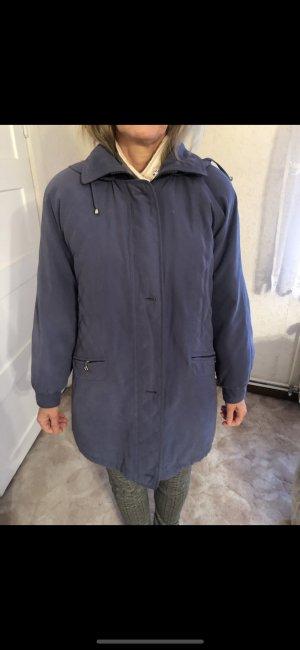 Down Jacket steel blue-cornflower blue