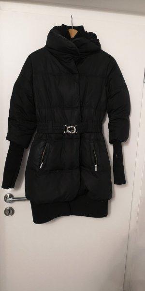 Amisu Abrigo de plumón negro
