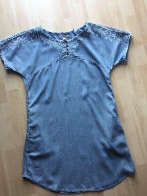 Damen Denim Jeans Kleid von Esprit Gr 34 XS eher Gr 36 wie Neu