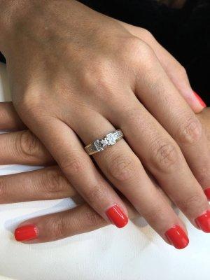 Damen Diamantenring 585