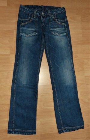 Damen Doppel- Jeans Hose Gr. S W 28 L 30 von Meltin Pot