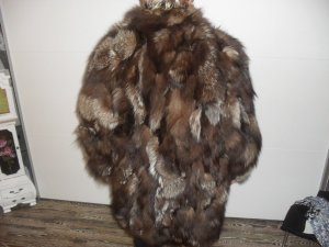 Pelt Coat multicolored fur
