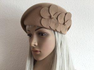 Cappello di lana beige Lana