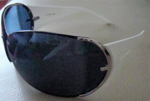 Escada Oval Sunglasses white-blue