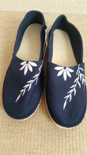 Adler Espadrille Sandals white-dark blue