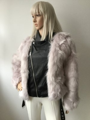 Damen Faux-Fur & Biker Jacket von Boutique Boohoo Gr.38