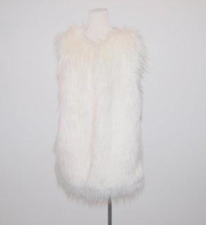 Orsay Smanicato di pelliccia bianco Poliestere