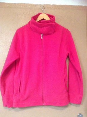 Fleece jack roze