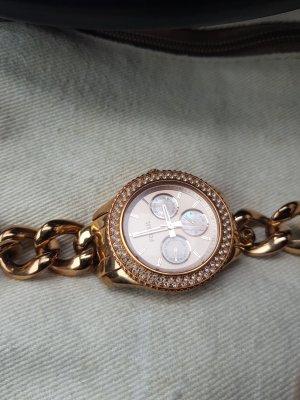 Damen Fossil Uhr Rose Gold