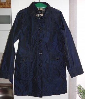 Bexleys Between-Seasons-Coat dark blue polyester