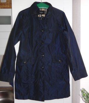 Damen Frühjahrs.- Regenmantel in dunkelblau von Bexleys Gr. 44