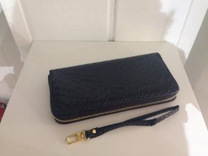 Damen Geldbörse Clutch Brieftasche portmonee portmonnaie geldtasche schwarz