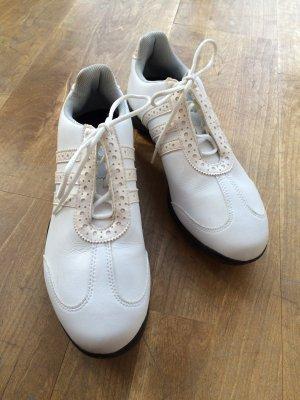 Damen-Golfschuhe weiss, Adidas