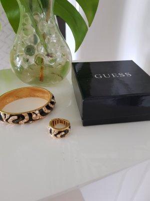 Guess Bracelet noir-doré