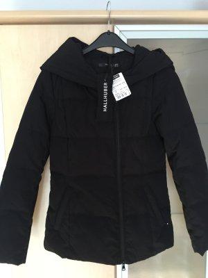 Damen Hallhuber Daunen Jacke schwarz Gr 36 Neu mit Etikett