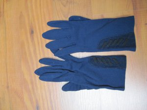 Gloves blue-steel blue no material specification existing