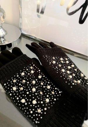 Damen Handschuhe mit BLING BLING , Neu