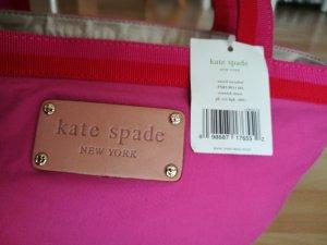 Kate Spade Borsa di tela rosa-magenta