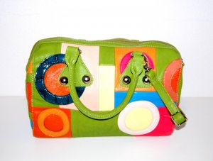 0039 Italy Shoulder Bag multicolored imitation leather