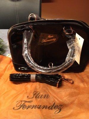 Damen Handtasche von llan Vernández schwarz nagelneu mit Etikett