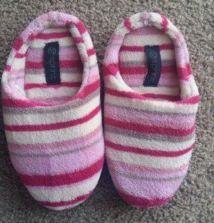 Pantofola da casa rosa