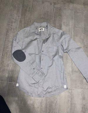 Marc O'Polo Camisa de manga larga gris claro