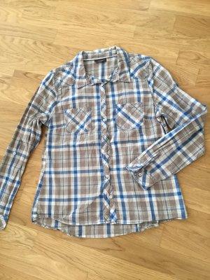 Damen Hemd Bluse Karobluse