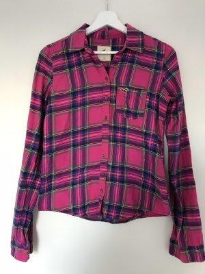 Damen Hemd Gr. S Hollister Pink
