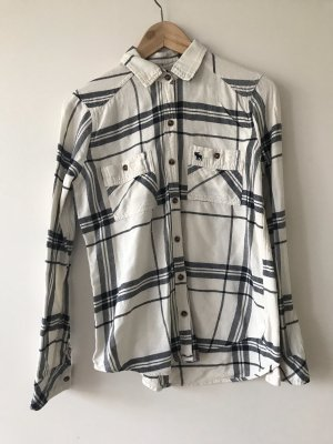 Abercrombie & Fitch Lumberjack Shirt natural white-black