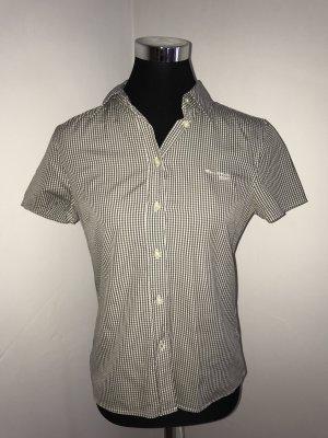Marc O'Polo Shirt met korte mouwen grijs-wit