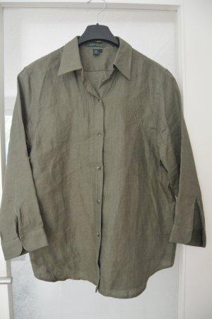 Damen Hemd Ralph Lauren gr.L Olivggrün