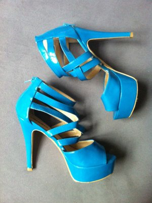 Damen High-Heels in blau