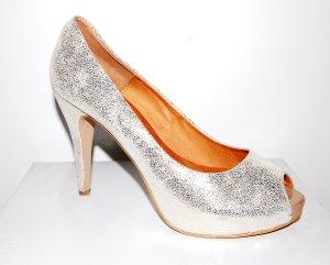 Damen High Heels - Pump - Peeptoe Leder von Mai Piu Senza Gr. 39