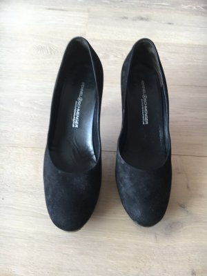 Damen High Heels, schwarz, Gr. 38