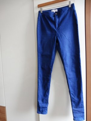 Stretch jeans donkerblauw
