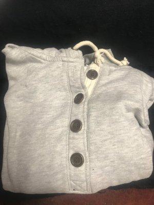 Hooded Sweater white-light grey