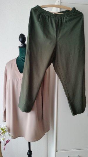 Adler 7/8 Length Trousers khaki